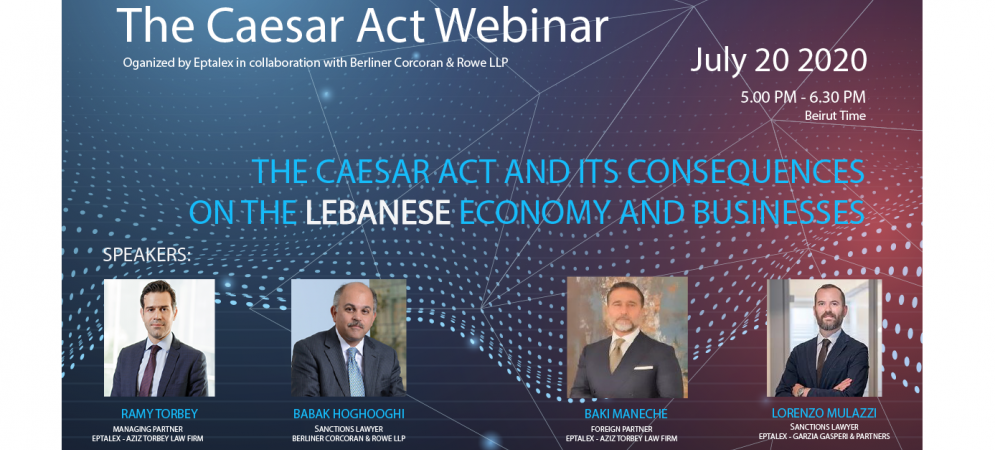 The Caesar Act Webinar